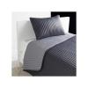 IKEAベッドカバー&クッションカバーKARITグレー180x280cm送料¥750!代引き可