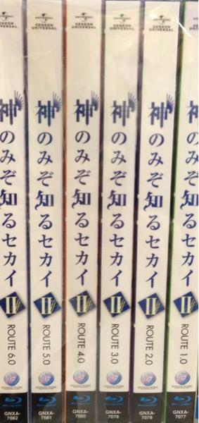 ■即決■神のみぞ知るセカイⅡ Blu-ray 全6巻 2期全巻 BD_画像1