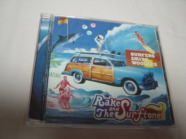 RAKE AND THE SURFTONES 「SURFERS DRIVE WOODIES」 Jay Graydon関連_画像1