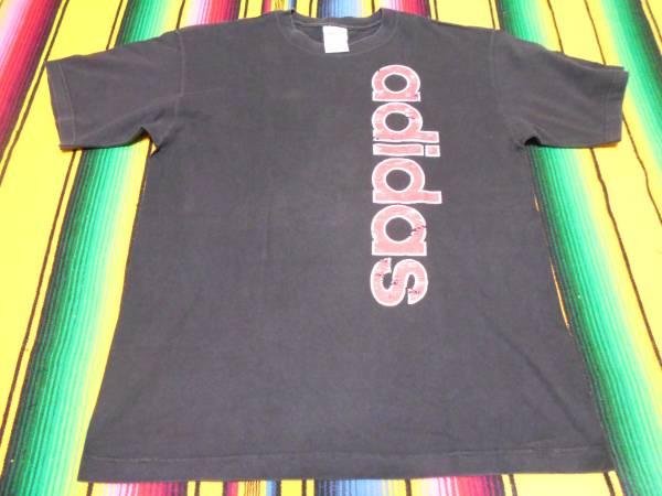 1990S ADIDAS アディダス ビンテージ Tシャツ MADE IN USA オールドスクール OLDSCHOOL HIPHOP RAP RUN DMC DEFJAM BEASTIEBOYS BMX_画像3