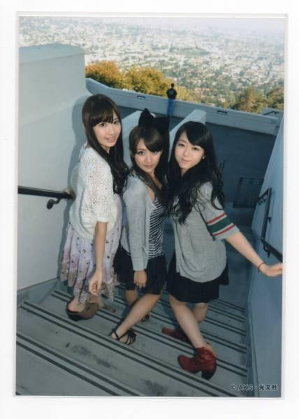 AKB48 小嶋陽菜高橋みなみ峯岸 ノースリーブス no3b 特典 生写真
