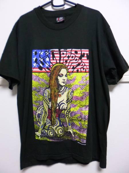 90s レッドホットチリペッパーズ Tシャツ コジック L 黒KOZIK