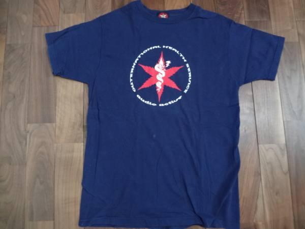 バンドTシャツ オーディオアクティブ Tシャツ Mサイズ 紺