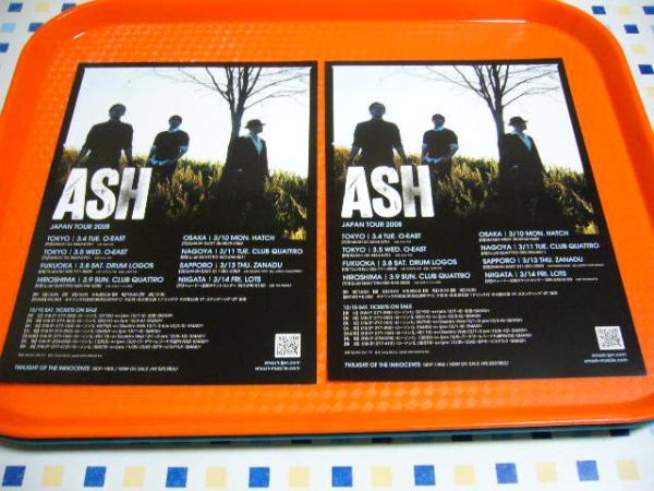 ☆アッシュ ASH☆2008来日公演チラシ2枚☆切手OK☆即決