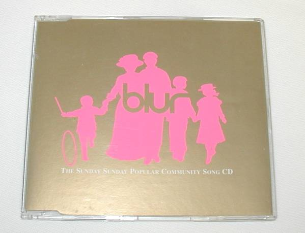 【 CD 】 blur ブラー ( Blur Featuring Seymour ) 「 The Sunday Sunday Popular Community Song CD 」 輸入盤 中古 1993年