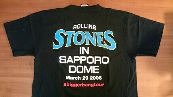 ローリングストーンズ 2006年 日本ツアー 札幌ドーム Tシャツ ライブグッズの画像