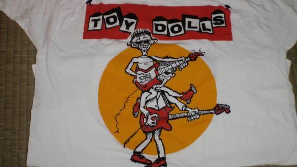 未着用 1993 TOY DOLLS トイドールズ ツアーT/峯田ジュンスカ好