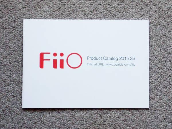 【カタログのみ】FiiO OYAIDE X1 X3 X5 E6 E11 MP3 RC Eband ハイレゾ