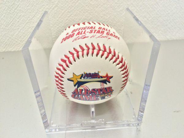 k60)MLBP2000年オールスターゲーム公式記念ボール ブレーブス