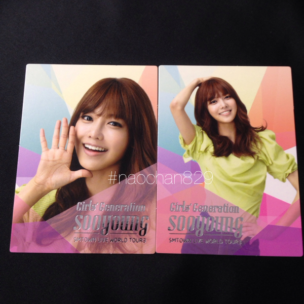公式 smtown '12 スヨン トレカ 2枚setコンプ少女時代ソウル美品 テヨン ジェシカ ティファニー ユナ/CD DVD Blu-ray タオル