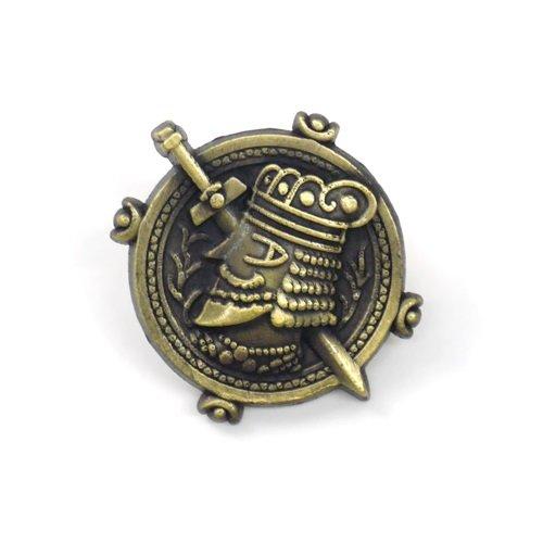 アルスラーン戦記 パルス王国国章ピンズ グッズの画像