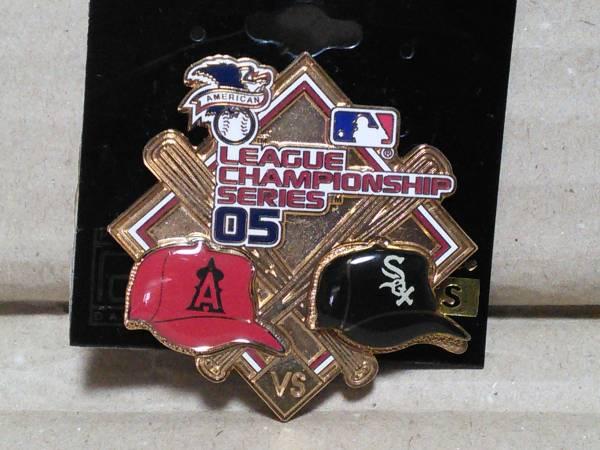MLB★ALCS2005★エンゼルス×ホワイトソックス★ピンズ グッズの画像