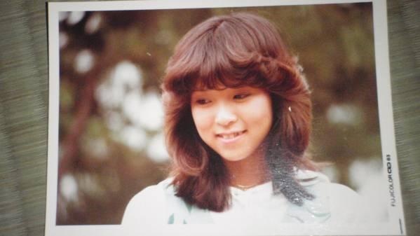 川島なお美 生写真 1983年 / ミスDJリクエストパレード お笑いマンガ道場