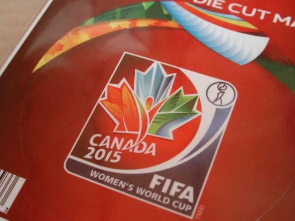カナダ女子ワールドカップ★ロゴマグネット★なでしこジャパン グッズの画像