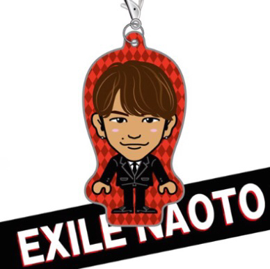EXILE 三代目J Soul Brothers NAOTO クリーナー チップスカード柄 ガチャ