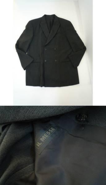 【お得!!】 ◆ IL MESSE ◆ スーツ上下セット LA ダークグレー系 79_画像2