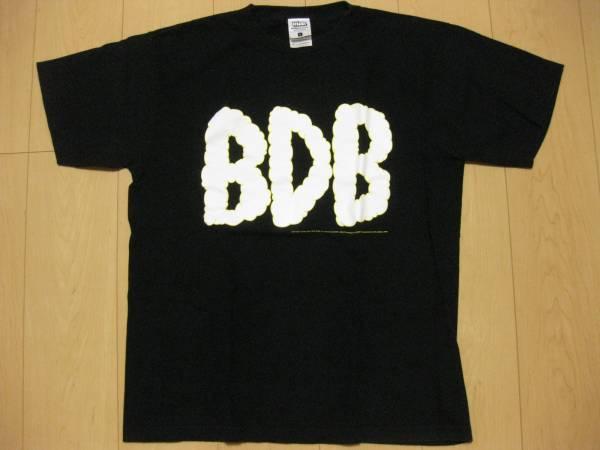 美品BACK DROP BOMBバックドロップボムTシャツ黒ブラックLハイスタンダード
