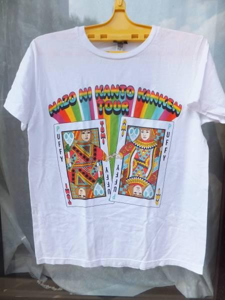 PUFFYパフィーのTシャツ L かわいいトランプ柄です 送料無料!