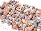溶岩石 1~3cm 100個以上 +おまけたくさん 水槽底石 ろ材 水草 アヌビアスナナやリシアやウィローモスの活着用に シュリンプ隠れ家にも