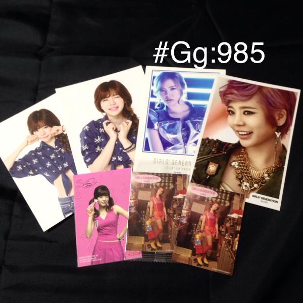 ◆公式◆サニー7点SET ギャラクシー ポストカード少女時代美品
