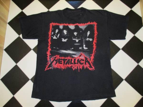 90's メタリカ Tシャツ ビンテージ パスヘッド バンド ツアー ライブグッズの画像