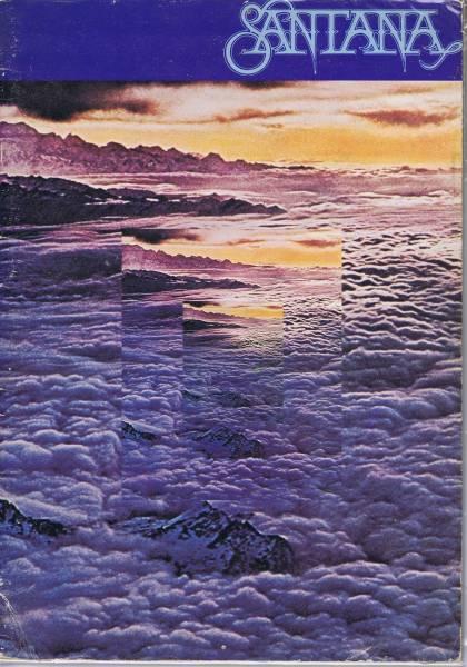 サンタナ 日本公演 1977 パンフ