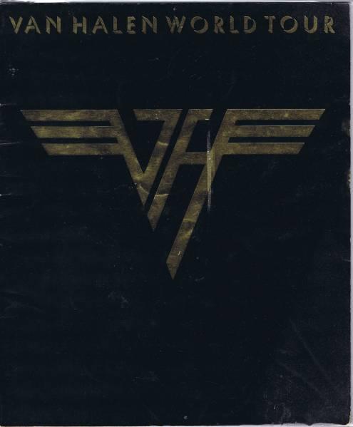VAN HEALEN JAPAN TOUR 1979 パンフ