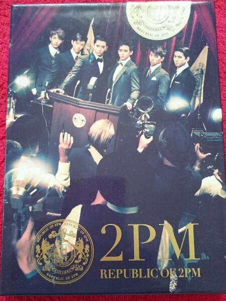 美品☆REPUBLIC OF 2PM(初回生産限定盤A)(DVD付)