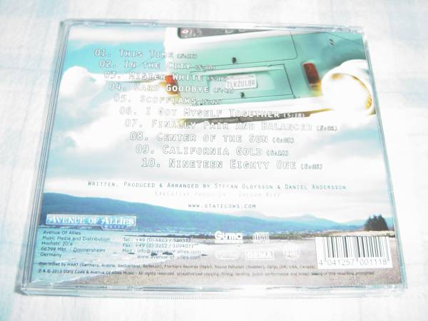 STATE COWS 「THE SECOND ONE」 AOR系名盤_画像2