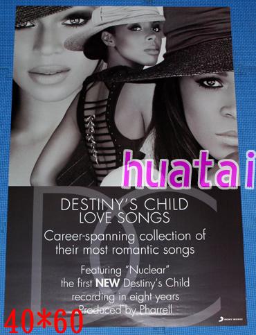 Destiny's Child デスティニーズ・チャイルド 告知ポスター