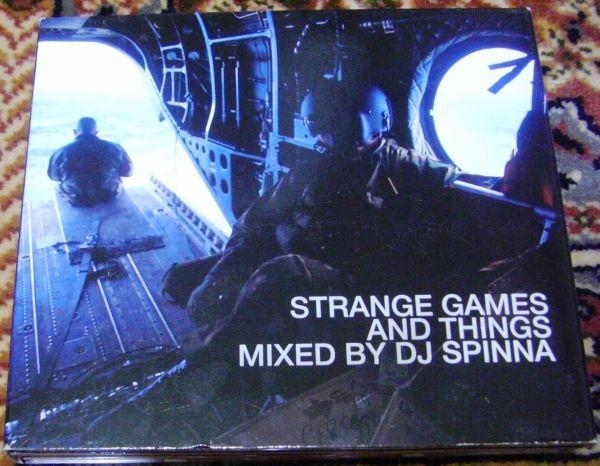 DJ Spinna/Strange Games And Things☆DJスピナ 70年代MIX 3CD_画像1