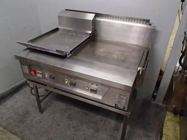 03-26141 中古 コメットカトウ グリドル(台付)CBPG-1185MFL6 グリラー 鉄板焼器 業務用厨房機器 店舗用 業務用調理機器 ガス式 都市ガス_画像1