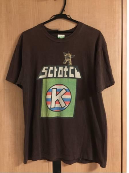 木村カエラ Scratch Tシャツ サイズL Kaela ライブグッズの画像