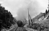 ◆【即決写真】D511087補機 1968.7 奥羽本線 津軽湯の沢/12-28