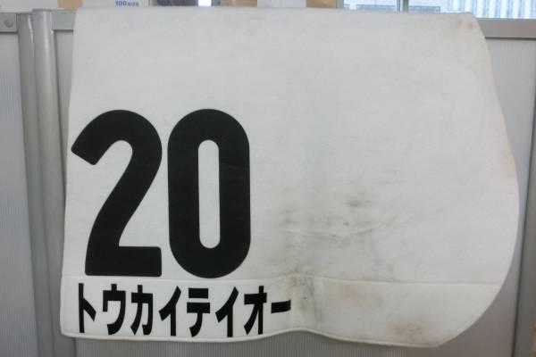 トウカイテイオー 日本ダービー優勝 実使用ゼッケン 保証付_画像2