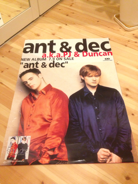 PJ&Duncan PJダンカン poster ポスター