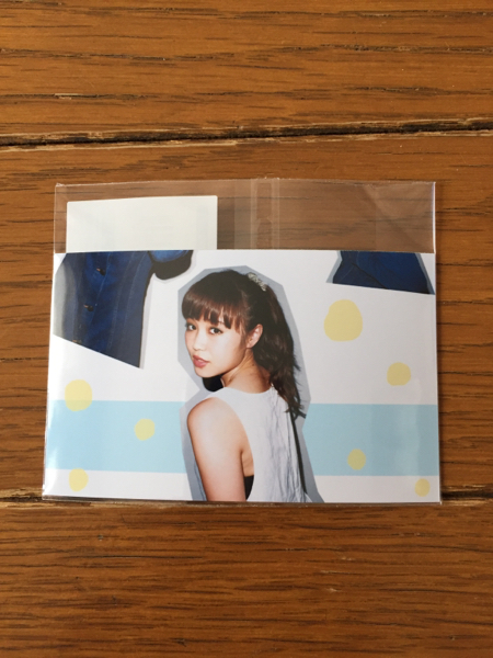 Dance Dance Dance プライベートフォトカード E-girls Flower 鷲尾伶菜 ライブグッズの画像