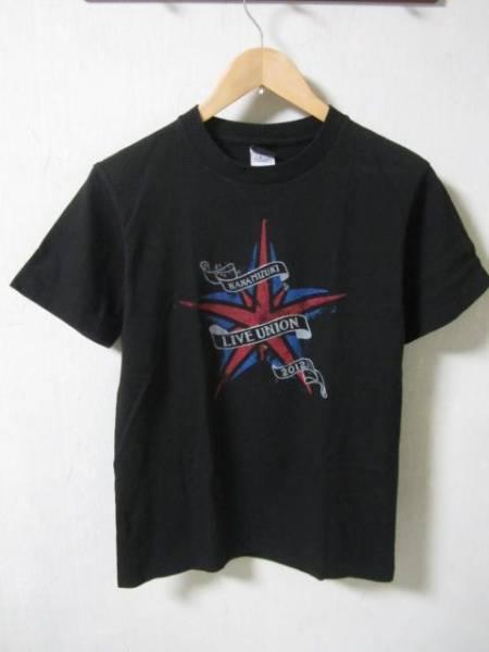水樹奈々 '12ライブユニオン ツアーTシャツ 黒 Sサイズ