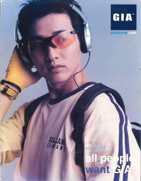 【韓国】 GIA 2002 SPRING カタログ ★ ウォンビン