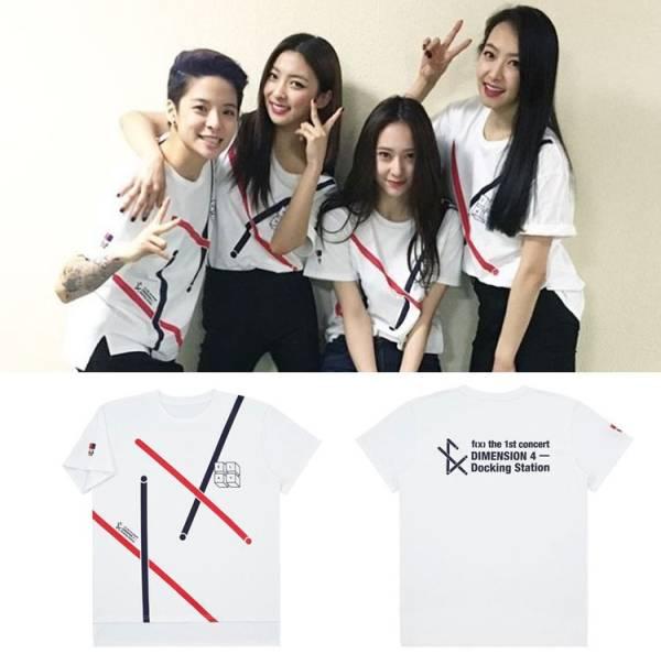 F(x)★1st Concert DIMENSION 4・Tシャツ♪S~XL
