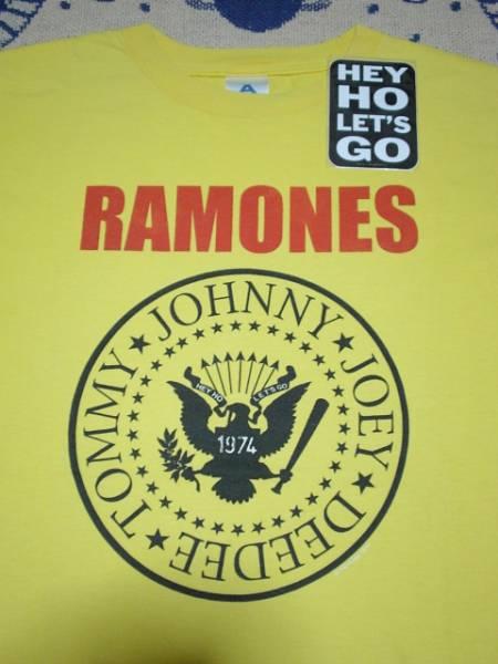 ステッカー付き♪ラモーンズオフィシャルTシャツ★RAMONESパンクCBGBアメリカニューヨークUSA古着オールドヴィンテージバンドTロックT
