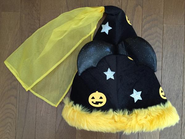 ★未使用 USJ 超可愛いキティ帽子 ハット ハロウィン ぬいぐるみ付 _画像3