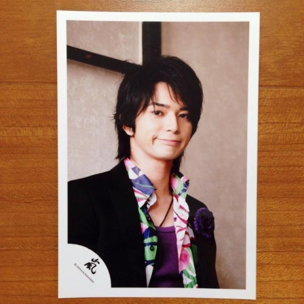 即決¥1000★嵐 公式写真 719★松本潤 貴重 嵐ロゴ