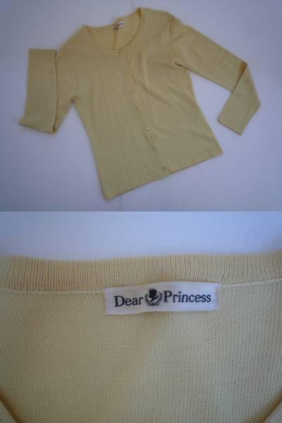 【2点セット!】 ★ Dear Princess ★ アンサンブルニット 黄_画像2