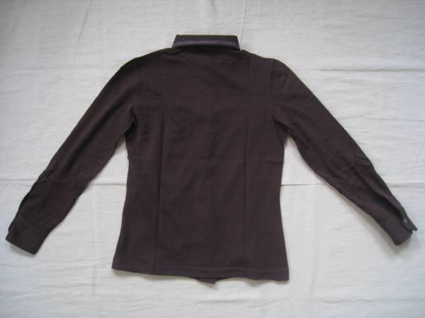 【値下げ!】 ◆ Gallotex ◆ ウールシャツ イタリア製 茶 44_画像2