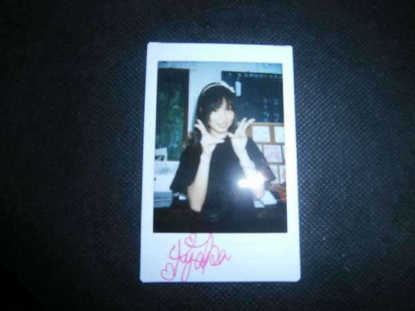 【チェキ】松本あやか 直筆サイン入り 001