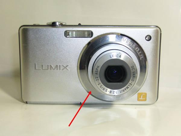 Panasonic LUMIX DMC-FS6 /810万画素 ★難あり