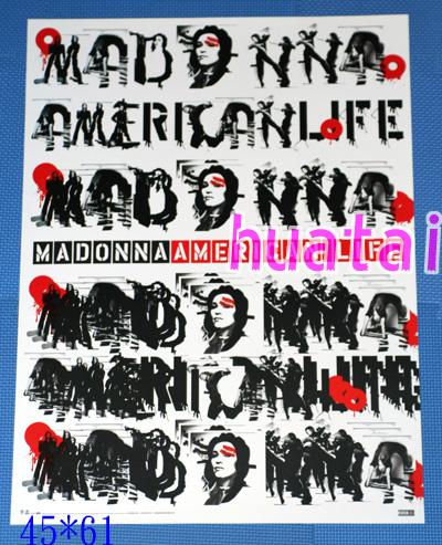 MADONNA マドンナ American Life 告知ポスター