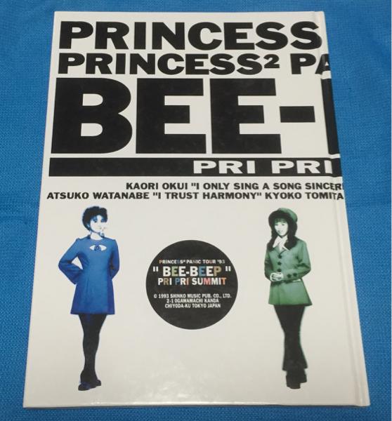 プリンセスプリンセス 93 コンサート パンフ
