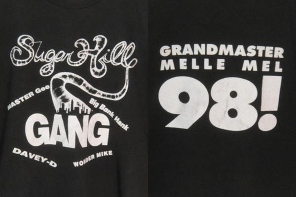 USA輸入'98ビンテージシュガーヒルギャングツアーTシャツXXL
